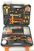 Solude Home Repair Tools Sets95 Pieces Handsaw General Household Hand Tool Kit