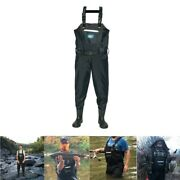 Night Cat Fishing Chest Wader With Breathable Waterproof Boots Hunting Pants
