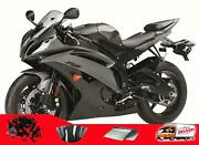 Msa Injection Fairing Fit For Yamaha 2008-2016 Yzf R6 Abs Matte Black Grey K055