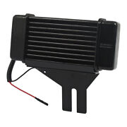 Jagg Oil Cooler 10-row, With Theromstat And Fan, For Harley Davidson Dyna 91-17