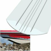 7 Ft - White Keelguard Keel Protector Shield Boat Bow Protector Sand And Rock