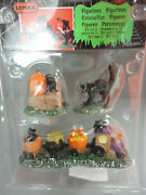 Lemax Spooky Town Trick Or Treat Train Set Of 3 New In Package Never Used