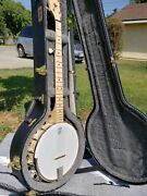 Deering Goodtime Two 5 - String Banjo Maple With Resonator And Hard Shell Case