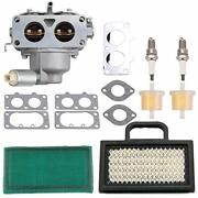 Carburetor For Briggs And Stratton V-twin 20hp 21hp 23hp 24hp 25hp 26hp 28hp Engin