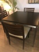 Ethan Allen Horizons Studio Kendo Dining Table Wood Expresso