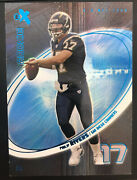 2004 04 Philip Rivers Rookie Rc Ex Essential Credentials 17/42 Jersey Number