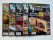 Woodworkers Journal Magazine Year 2013 Lot Of 5 Magazines