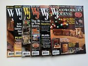 Woodworkers Journal Magazine Year 2014 Lot Of 6 Magazines