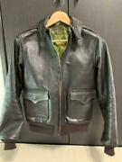 Real Mccoy Real Mccoy's Type A-2 Flight Jacket Size 38 Dark Brown Camo