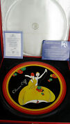 Wedgwood Charleston Charger Clarice Cliff Limited Edition Box And Certificate
