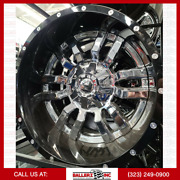 6x135/139.7 20x12 Fuel Offroad Wheel And Tire Package W/ 33 Tires