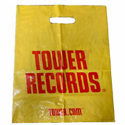1 Tower Records Shopping Bag Collectible Vintage 9 1/2x 12and039and039 45s Recycl Bag .com