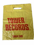 1 Tower Shopping Bag Collectible Records Vintage 15and039and039 X 12and039and039 45s .com Bag Rare