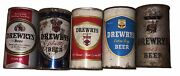 Drewrys Beer 1950andrsquos And 1960andrsquos Vintage Set Of 5 Cans