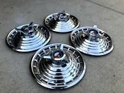 1963 Ford Galaxie 500 Hubcaps 14and039and039