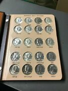 Awesome Bu Kennedy Half Dollar Collection 1964-2021pandd 43 Proofs Dansco Album