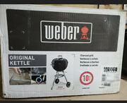 Weber 18 Inch One-touch Black Portable Original Kettle Charcoal Grill Brand New