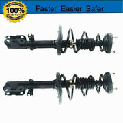 Complete Strut And Spring Assembly Rear Pair Fit For 12-14 Toyota Camry Xle Le L