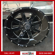 20x12 Diablo 6x135/139.7 Offroad Wheel And 33 Tire Package
