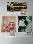 Lot Of 3 - Fdc 1986 Postcards State College Pa Stamp Collecting