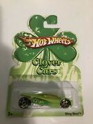 Hot Wheels 2007 Clover Cars Green Sling Shot Diecast St.patrickandrsquos Day Car