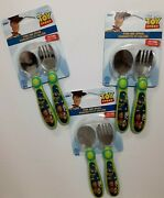 Lot Of 3 Disney Toy Story Fork And Spoon Sets Brand New And Free Shipping