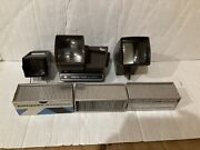 Vantage Pana-vue 2x2 Slide Viewer And Airequipt Slide Magazine Lot Of 6