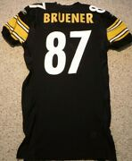 Pittsburgh Steelers Team Issued Jersey Mark Bruener 2001 Game Jersey Size 52