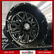 20x12 H111 Blaze Hostile Offroad Wheel And 33 Tire Package 6x139.7 6x5.5