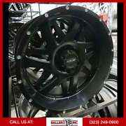 20x9 M91 Mkw Offroad Wheel And Tire Package 6x139.7 Matte Black