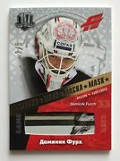 2018 Sereal Khl Exclusive 2/5 Dominik Furch Mask Card