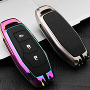 Smart Remote 3-button Key Fob Metal Case For Ford Edge Fusion Explorer Mustang