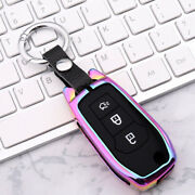 Plug-in Type Folding Key Fob Case Cover Protector Shell For 2015-2019 Ford Serie