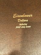 Eisenhower Dollar Collection 1971-78pdands In Album All Bu And Proof Coins