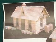 G Scale Schomberg Scale Models Kit 805 Small Stone Station Resin Building Kit