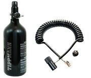 Genuine Tippmann 48/3000 Paintball High Compressed Air Tank + Remote Coil Hpa N2