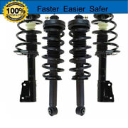 Complete Struts And Coil Assembly Front Pair Fits 2009-2013 2012 Infiniti G37 Awd