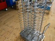 Food Tray Cart, 92 Slots, W/removable Handle
