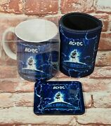 Brand New Genuine Ac/dc Ballbreaker 11oz Coffee Mug Can Cooler Coaster