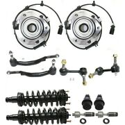 Suspension Kit For 2002-2003 Gmc Envoy Front Left And Right 12-piece Kit