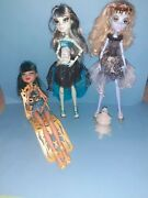 Monster High Doll 13 Wishes Bundle Cleo De Nile Haunt The Casbah Abbey And Frankie
