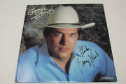 George Strait Signed Autograph Album Vinyl Record - The King Of Country Rare