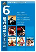 Mgm Movie Collection - 6 Sports Movies Bull Durham / Rocky Marciano / Body And
