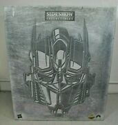 Sideshow Collectibles Exclusive Transformers Optimus Prime Maquette Open 2011