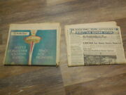 1962 April 8 Seattle Times Newspapers Complete Worlds Fair - Free Shipping
