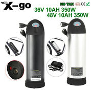 X-go 36v 48v 350w Electric Bicycle E-bike Bottle Li-ion Lithium Battery+charger