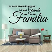 Family Phrase Wall Decals Home Decor Removable Wall Home Decoration Wallpaper