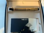 Waterman Man 200 Night And Day Gold Plated Fountain Pen