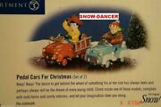 Department 56 Snow Village Pedal Cars For Christmas Set Of 2 55108