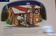 Department 56 Snow Village Last Stop Gas Station 55012 Retired